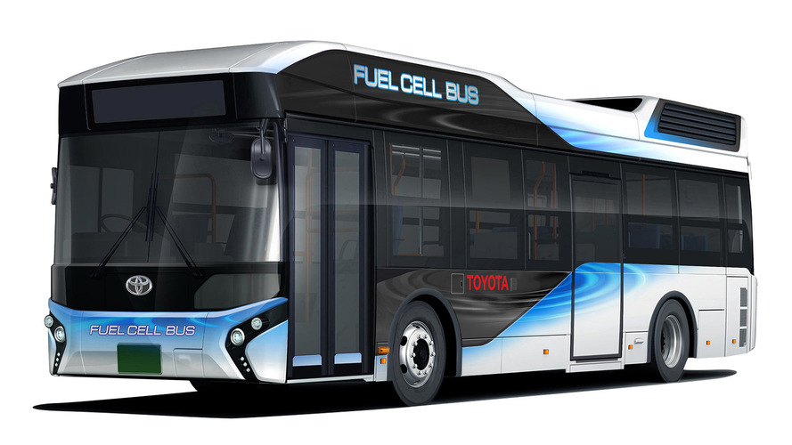 Toyota Fuel Cell Bus doubles as emergency power supply, hits the road early 2017