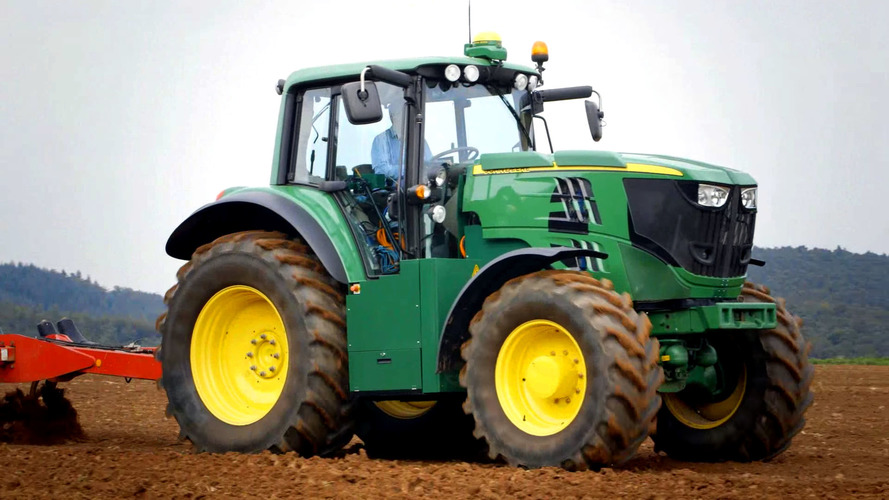 John Deere really goes green with EV tractor concept