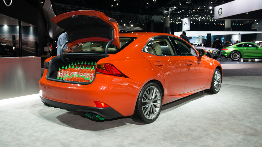 Okay, the Sriracha Lexus is actually pretty cool