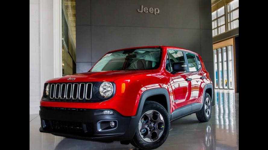 'Made in Brazil', Jeep Renegade 1.8 começa a ser exportado para o Chile