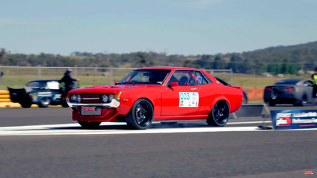 This 1971 Toyota Celica has a 1,000-hp Lexus V8 under the hood