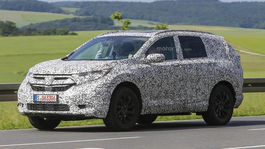 Next Honda CR-V caught testing in Germany