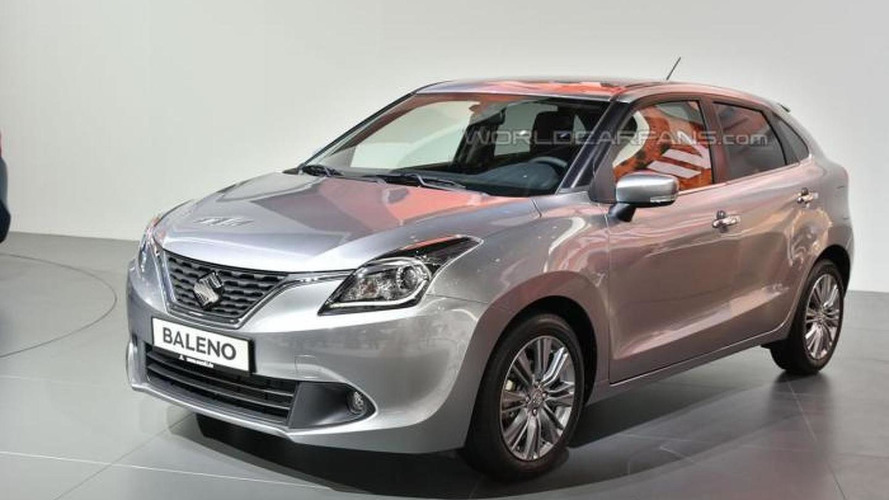 Suzuki Baleno is a no-frills hatchback in Frankfurt [video]