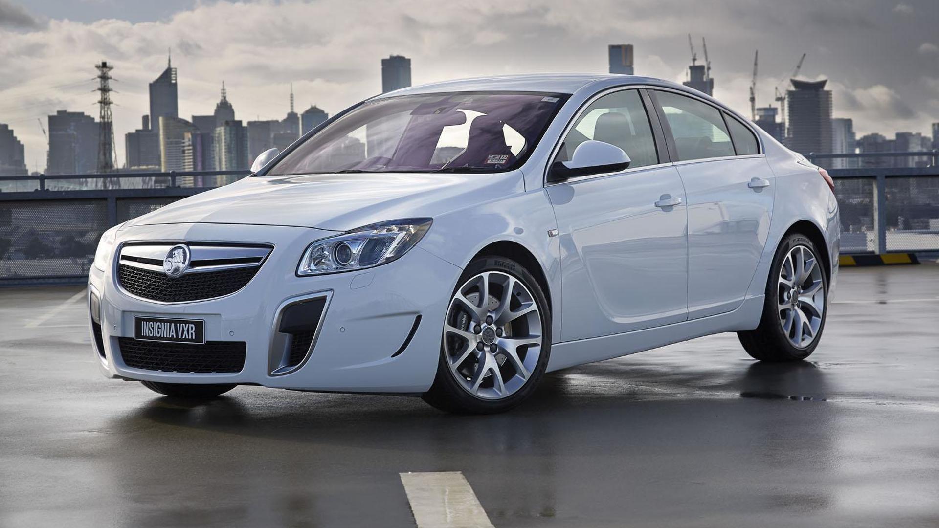 Holden Insignia VXR gets detailed
