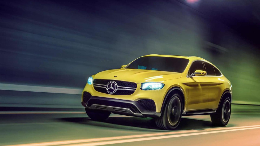 Mercedes-Benz Concept GLC Coupe officially revealed