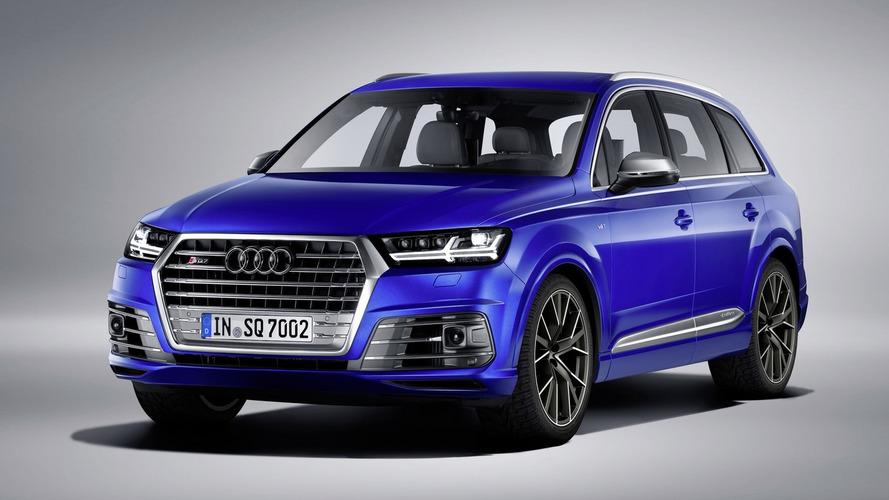 Audi's SQ7 TDI diesel SUV beast on sale mid-May