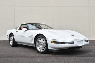 This Radiant 1993 Corvette ZR-1 Has Only Seen 18,000 Miles
