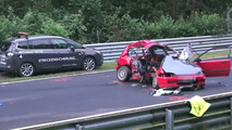 Horrible crash at Nurburgring kills two, injures three