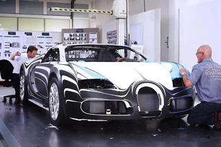 Video: The Vision Behind the Bugatti Veyron L' Or Blanc