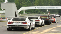 BMW M1 racecars at Lime Rock Park 2003
