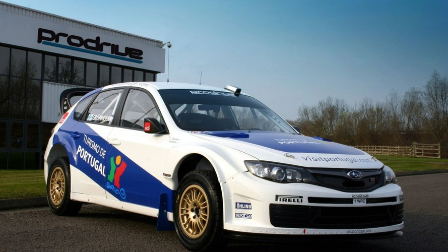 Gronholm's Prodrive Impreza WRC2008 Revealed - Ready for Rally of Portugal