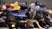 Webber concealed a broken shoulder through 2010 finale