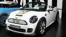 MINI Coupe and Roadster Concepts live in Frankfurt 2009
