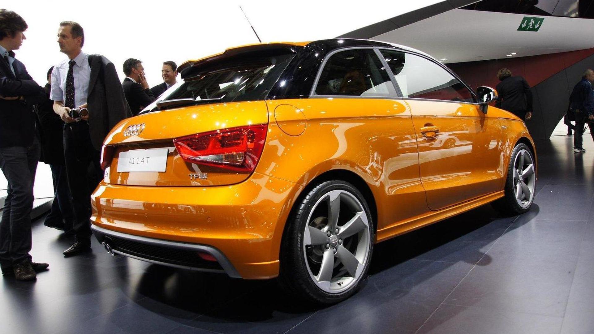 Audi unveils A1 1.4 TFSI in Paris