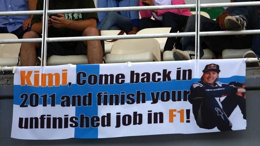 Renault eyes Raikkonen or Sutil for 2011 seat - report