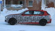 2012 BMW 1-Series prototype winter testing 21.01.2011