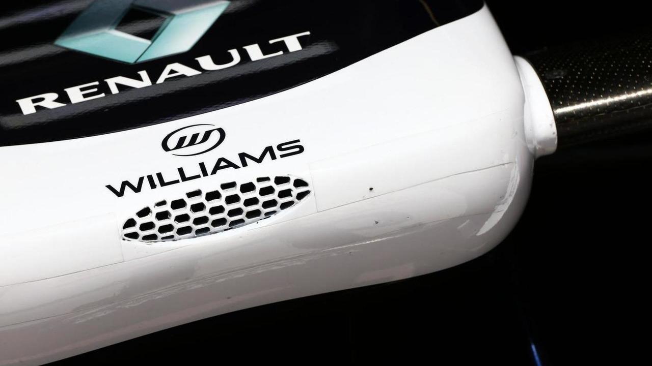 Williams FW35 nosecone