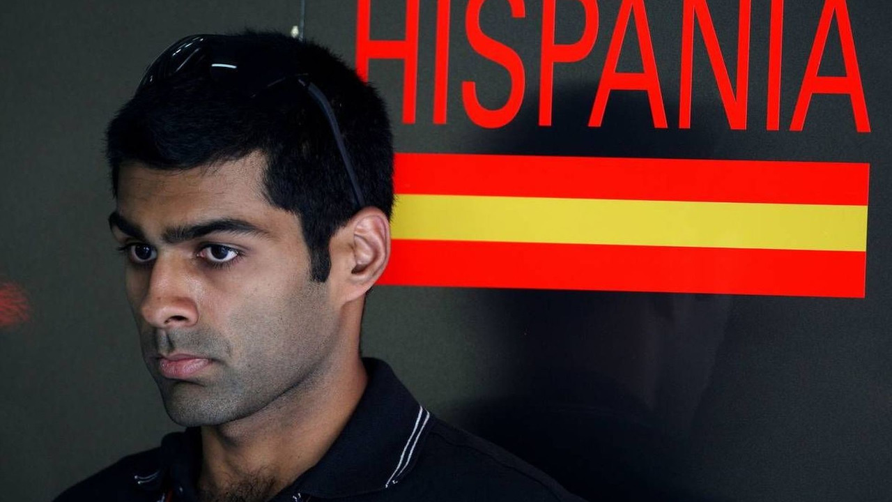 Karun Chandhok (IND), Hispania Racing F1 Team, Bahrain Grand Prix, 12.03.2010 Sakhir, Bahrain