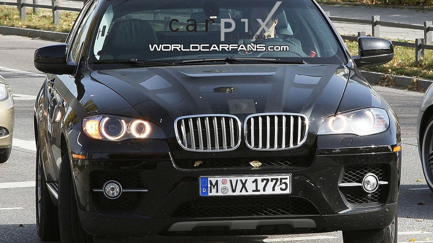 BMW X6 Active Hybrid in Final Stages of Testing