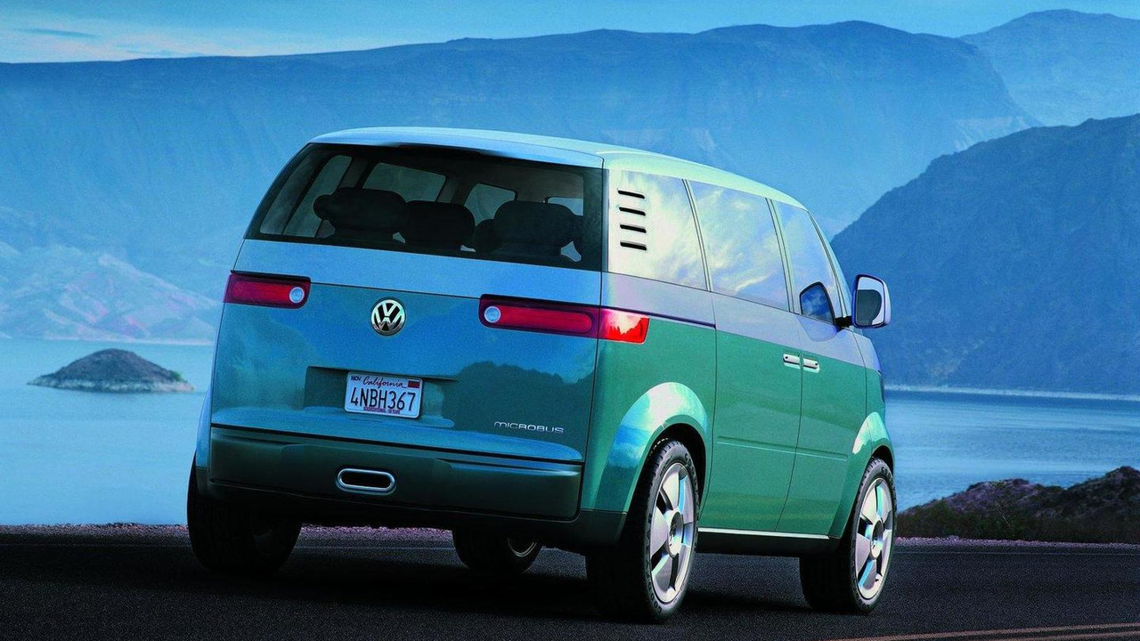 Volkswagen Microbus concept, North American International Auto Show debut 2001