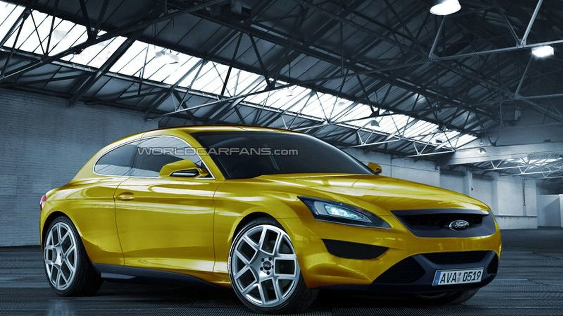 Rendered Speculation: Return of the Ford Capri