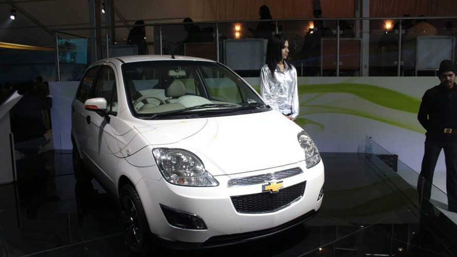 Chevrolet Spark EV Unveiled in New Delhi