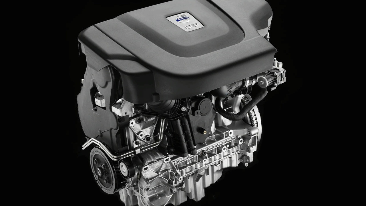 Volvo D5 sequential twin-turbo diesel engine - Euro 5
