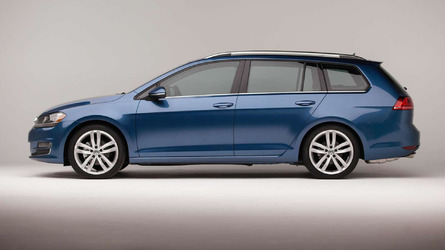 Volkswagen releases extensive gallery with US-spec 2015 Golf SportWagen