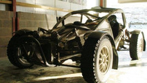 Ariel Nomad tackles muddy and bumpy terrain [video]