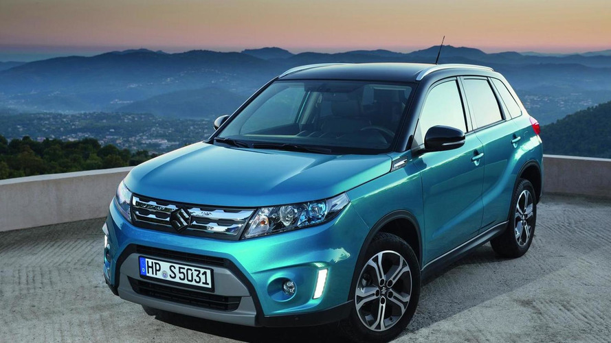 2015 Suzuki Vitara priced from £13,999 in UK