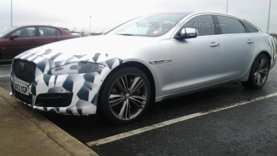 Jaguar XJ facelift spotted by WCF reader