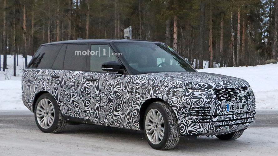 2018 Range Rover Plug-in Hybrid spy photos