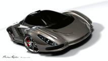 Supercar Art - Stingray Dream Design