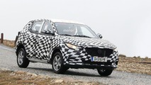 MG ZS Spy Photos