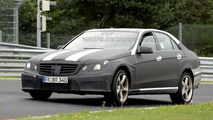 Mercedes E63 AMG Prototype Continues Testing