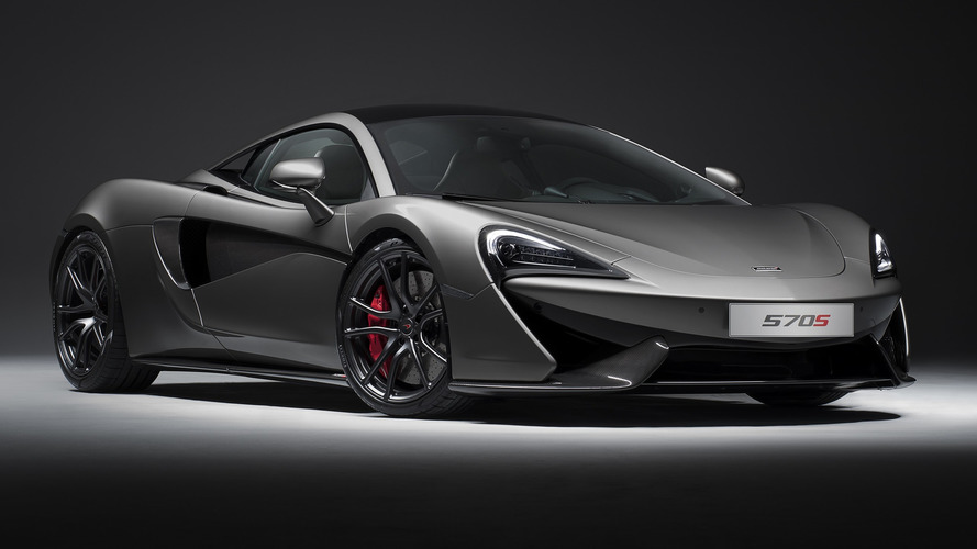 McLaren 570S Coupe with Track Pack
