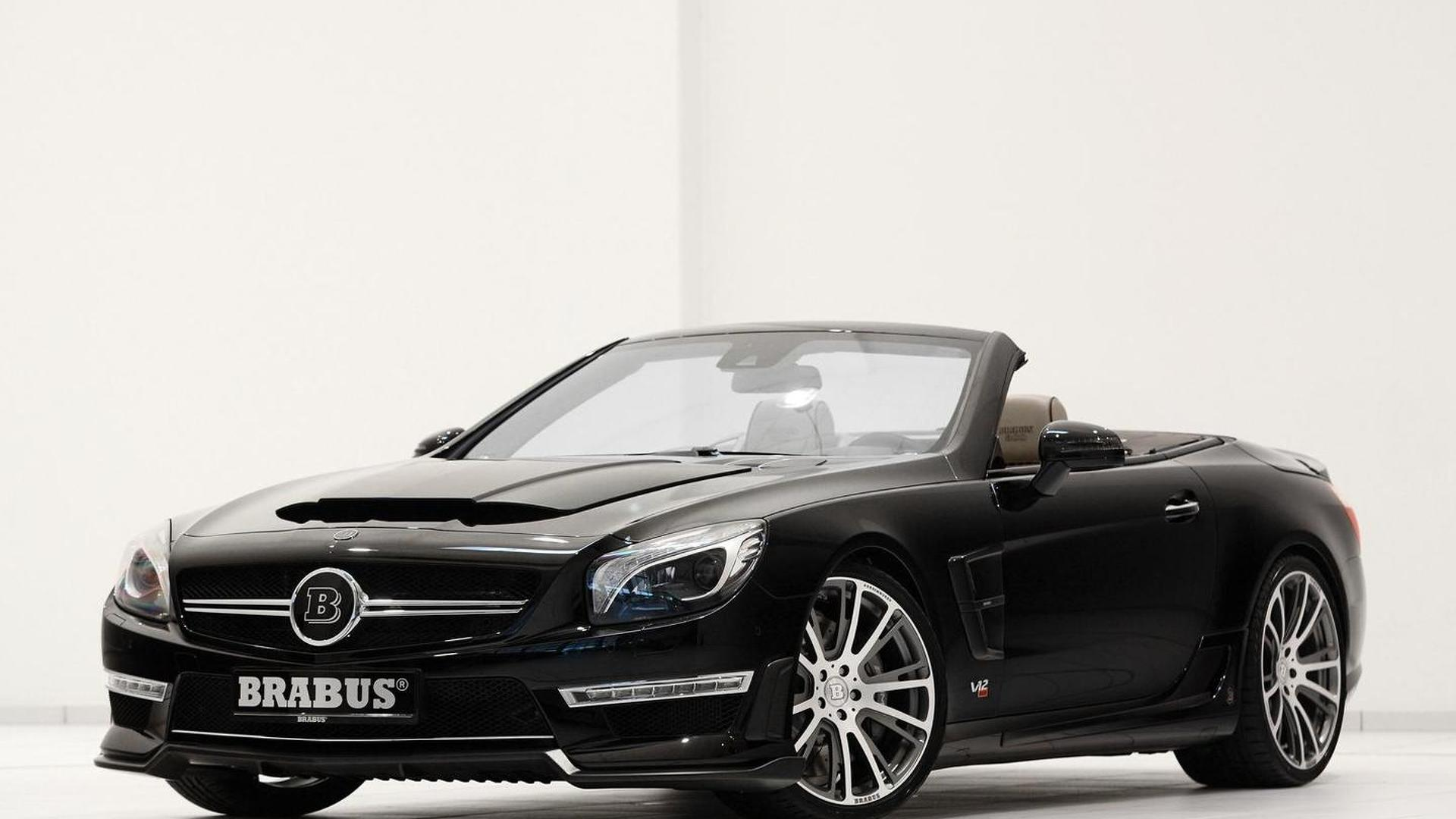 Brabus 800 Roadster based on Mercedes-Benz SL 65 AMG revealed