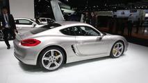 2014 Porsche Cayman live in Detroit 14.01.2013