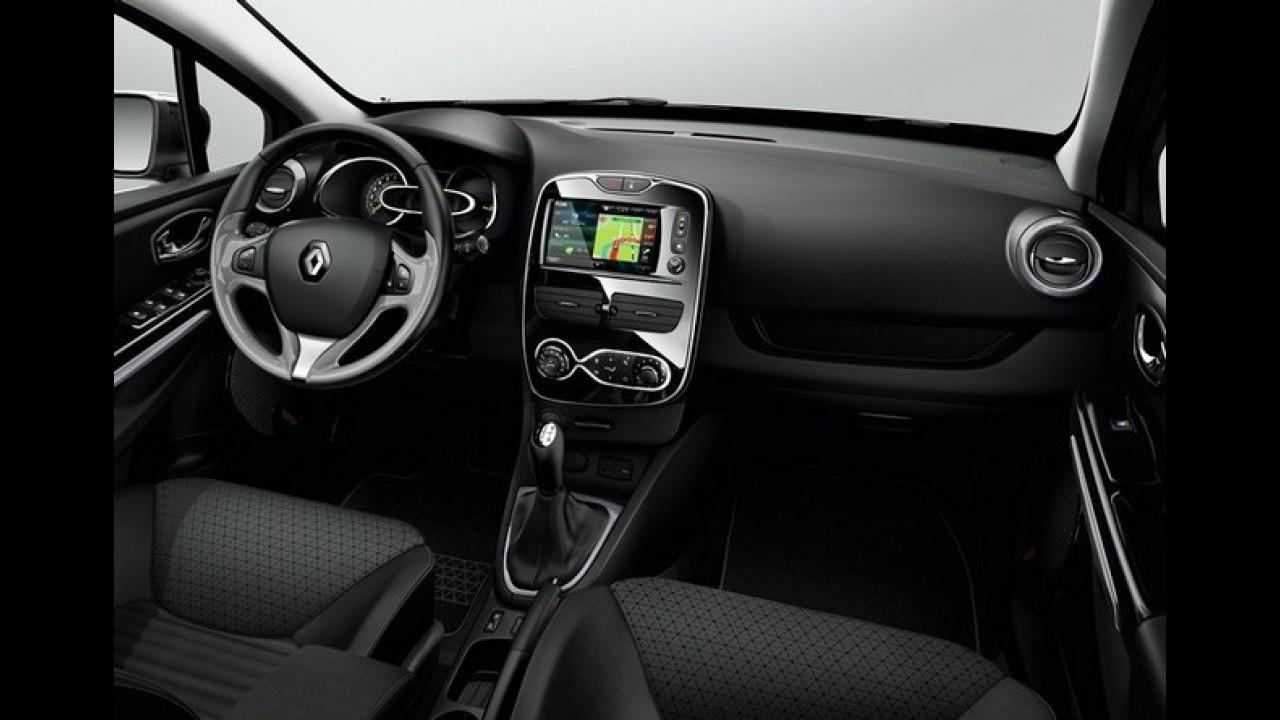 Novo Renault Clio 2013 - Veja mais fotos do modelo incluindo o interior