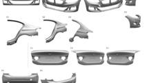 BMW 1 Series Sedan patent filling