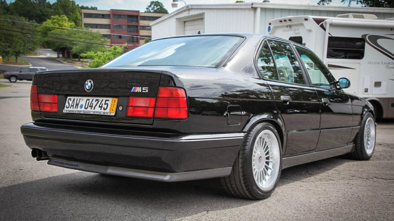 1991 BMW E34 M5 Euro Spec for sale on ebay