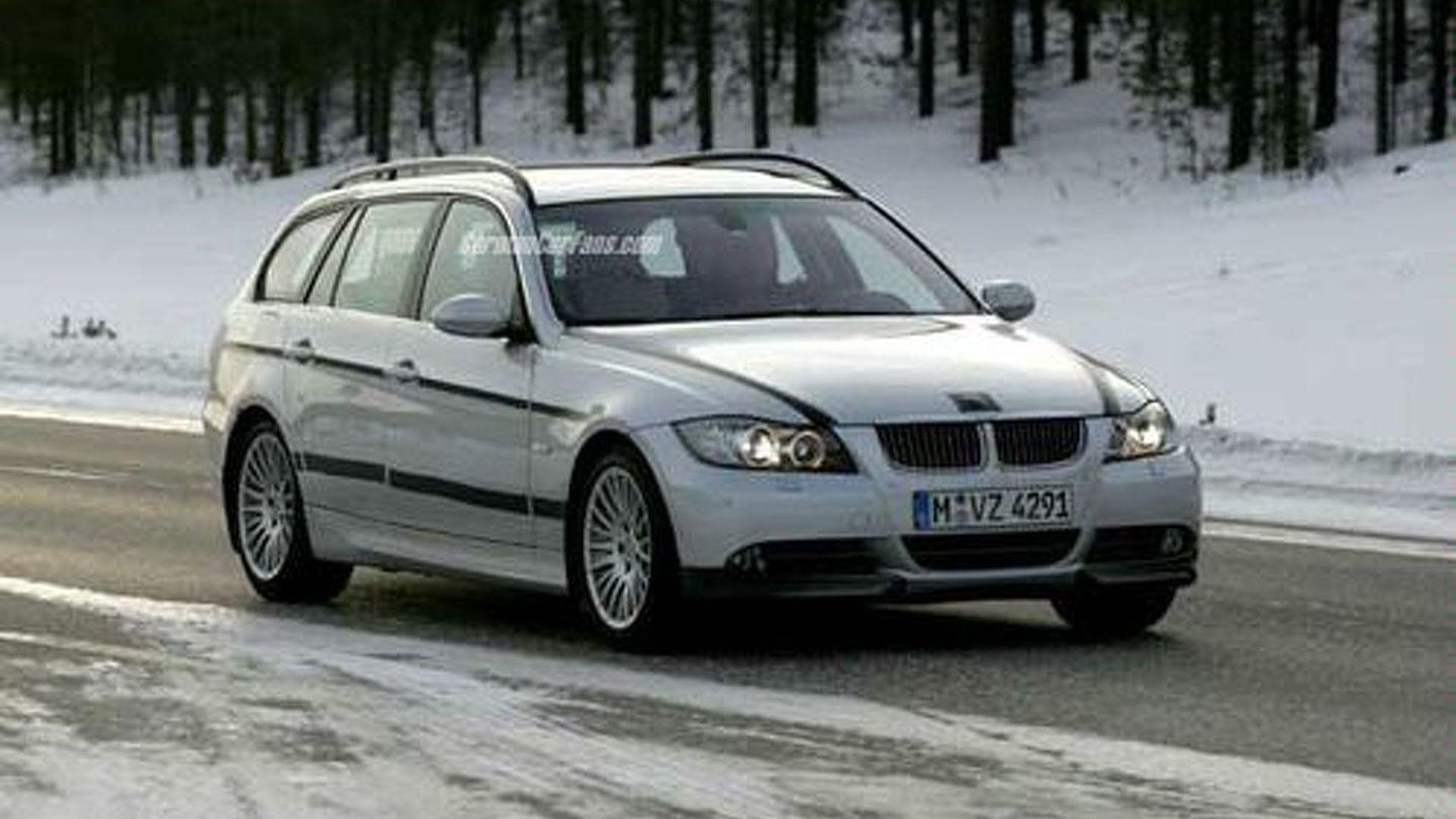 Spy Photos of BMW 3 Series Model Range