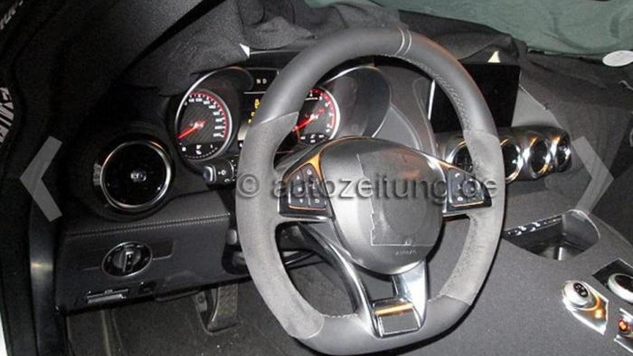 2014 Mercedes-Benz AMG GT spy photo