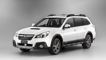2014 Subaru Outback gains an off-road inspired exterior in Australia