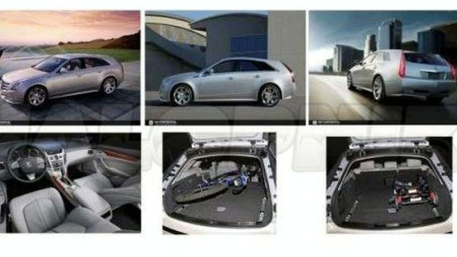Cadillac CTS Wagon Leaked
