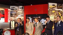 Ferrari Chairman Luca di Montezemolo, Tailor-Made program launch event 07.12.2011