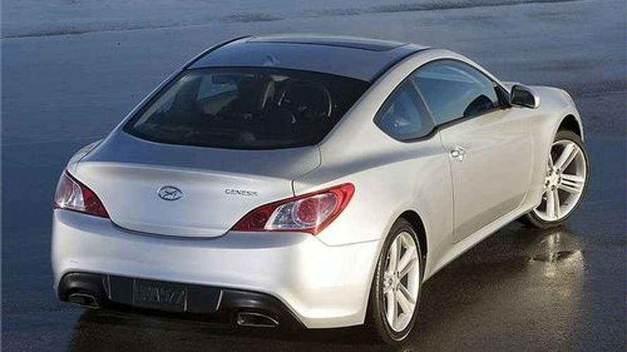 Hyundai Genesis Coupe Photos Leaked