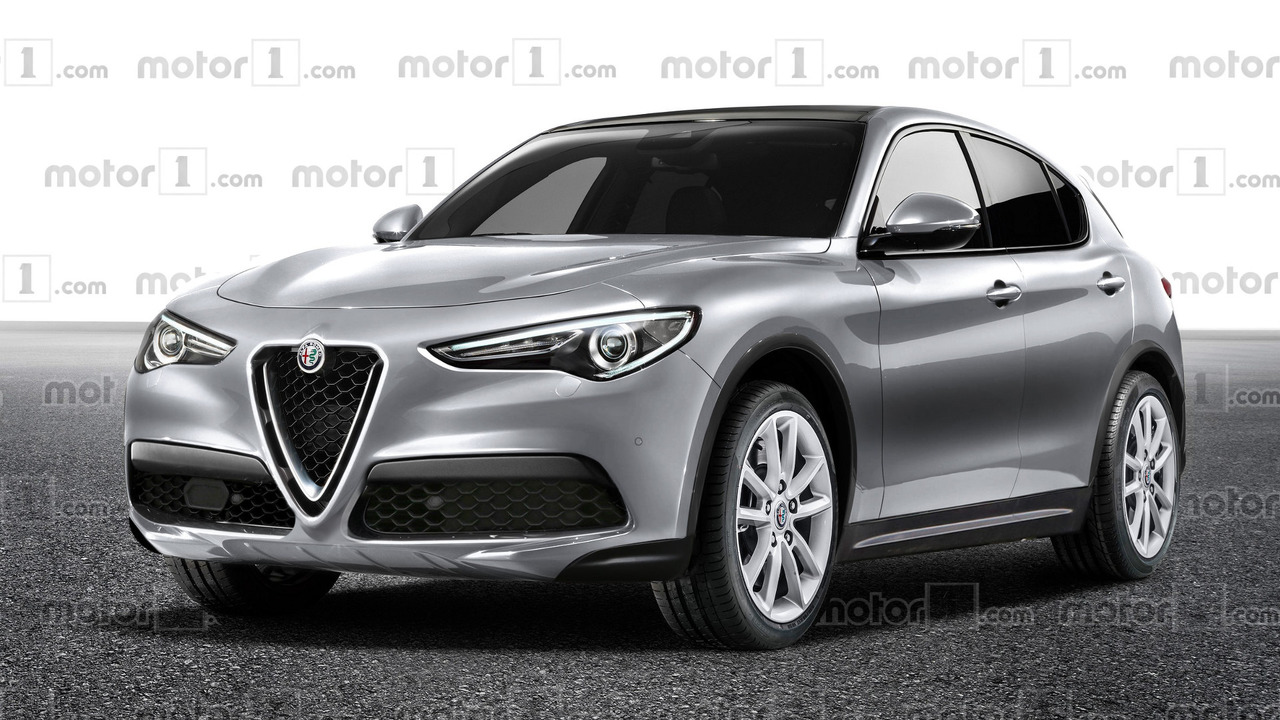 alfa romeo stelvio makes tv appearance in cheaper trim. Black Bedroom Furniture Sets. Home Design Ideas