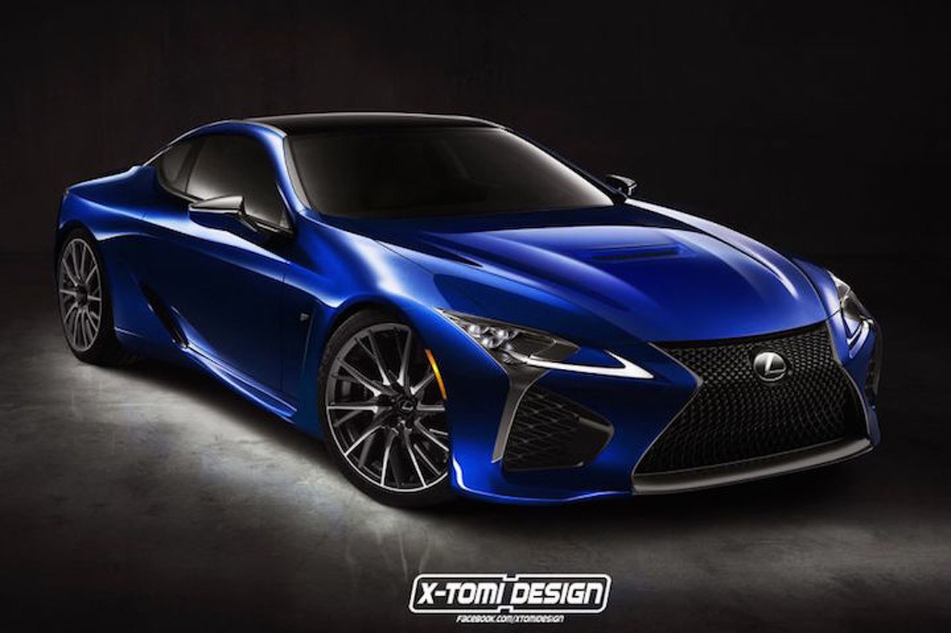 Here's What an Even Hotter Lexus LC F Would Look Like—Sign Us Up