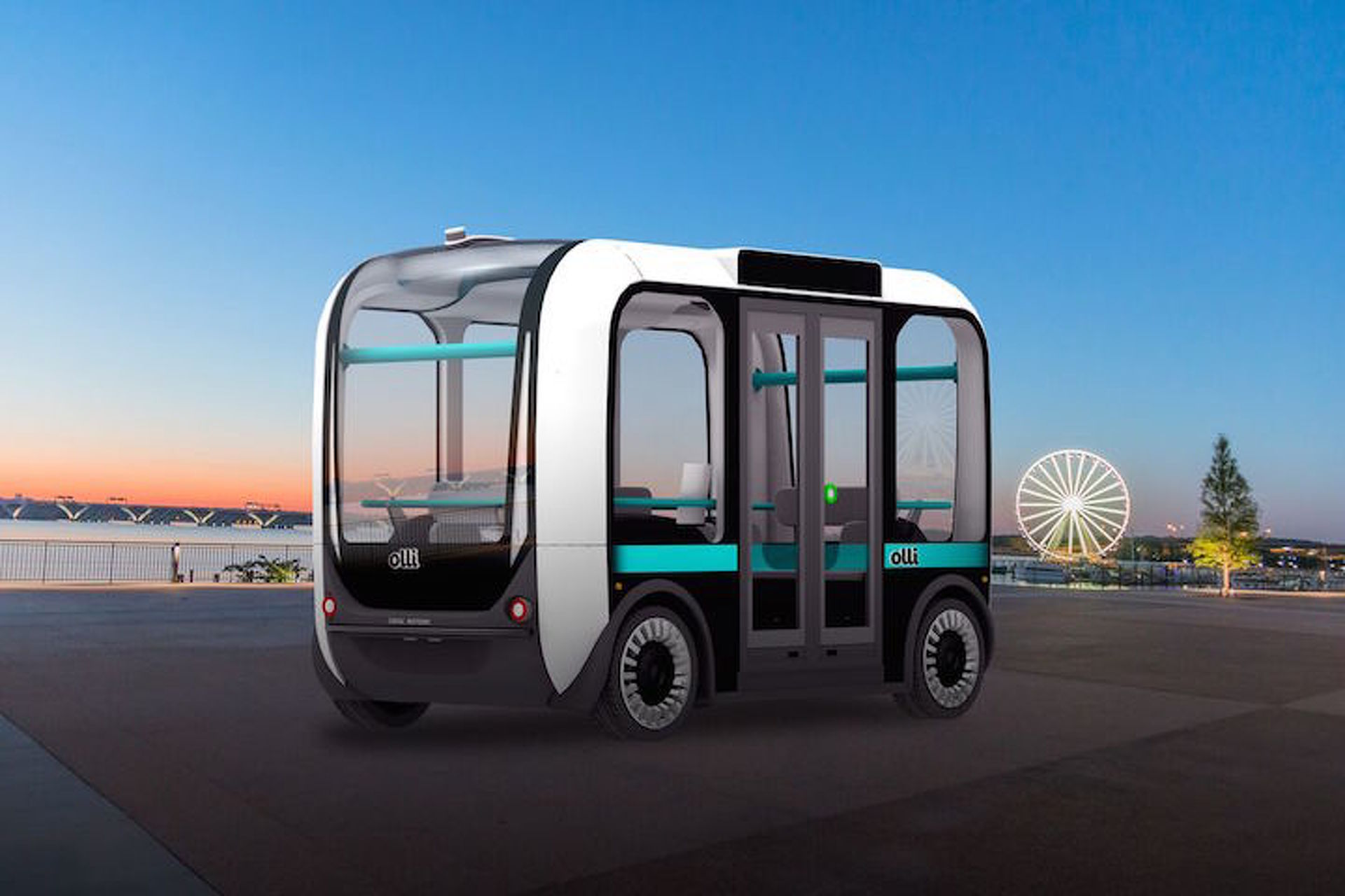 Meet Olli: The Self-Driving, Electric Bus Powered by IBM Watson